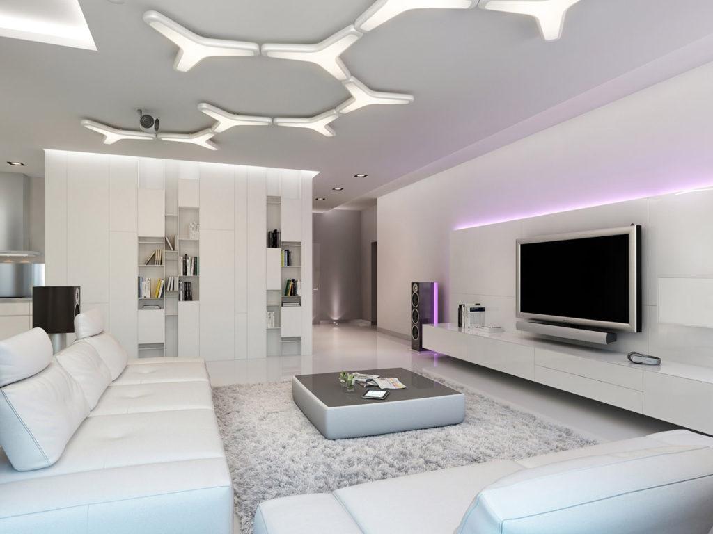 casa moderna con elementos sofisticados