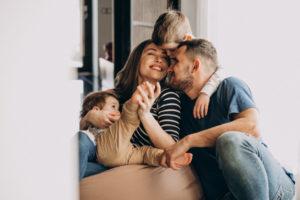 Casa propia y felicidad