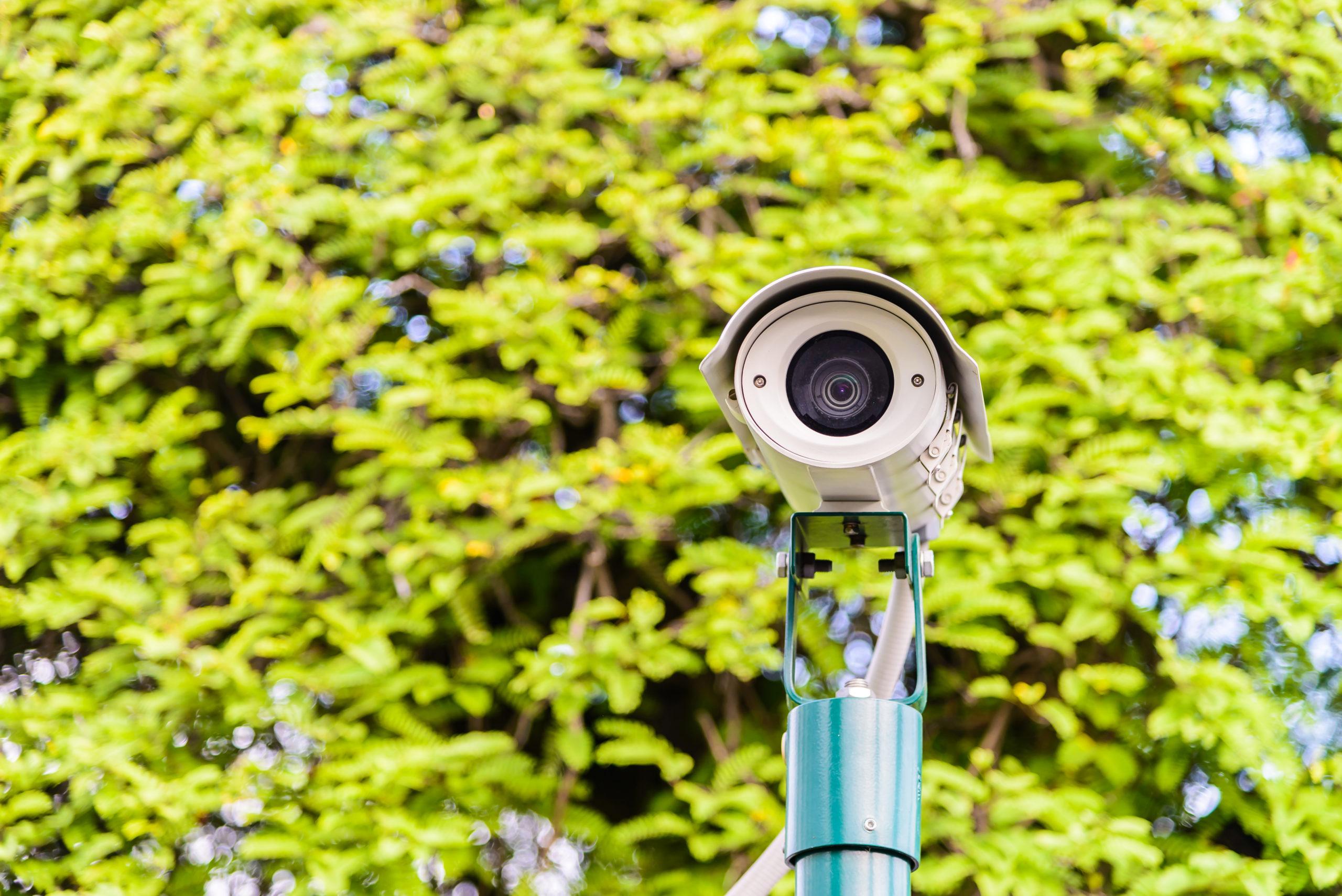 seguridad privada con cámaras