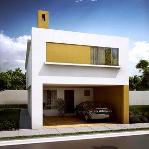 Casas en  Escobedo – Modelo Ibiza