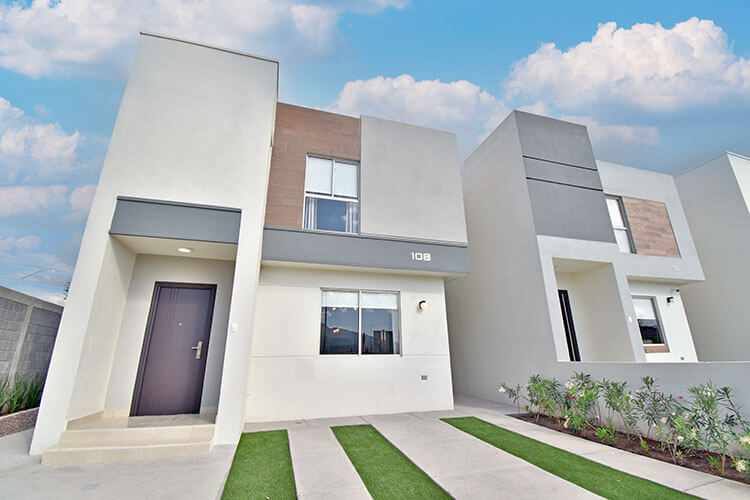 Casa en Saltillo modelo Milán 2 en fraccionamiento Villas Toscana