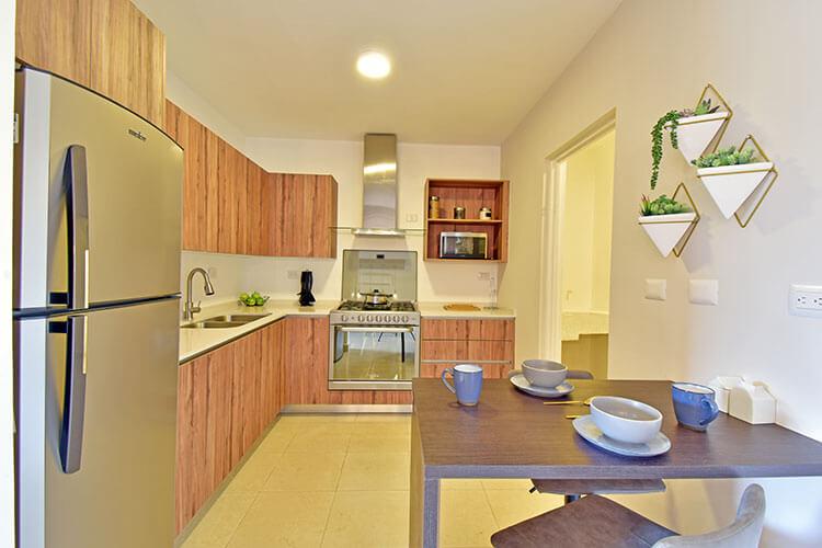 Cocina de casa en Saltillo en el fraccionamiento Villas Toscana
