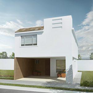 Casas en Saltillo – Modelo Ibiza