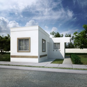 Casas en  Zuazua – Modelo Alcalá