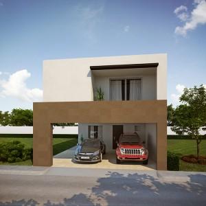 Casas en  Cumbres – Modelo Ibiza v