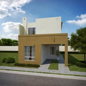 Casas en  Juárez – Modelo Castilla IV