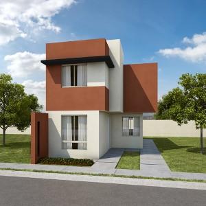 Casas en  Juárez – Modelo Castilla 2-S