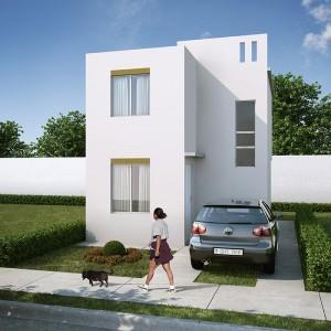 Casas en  Escobedo – Modelo Marsella