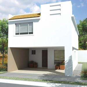 Casas en  Apodaca – Modelo Ibiza