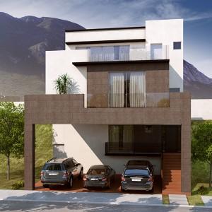 Casas en  Valle Poniente – Modelo Ámbar