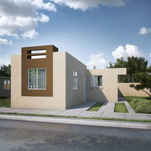 Casas en Reynosa – Modelo Cartagena