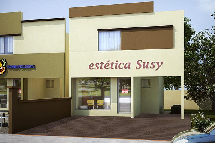 Casa en venta en Cadereyta, N. L. modelo Casa Tienda II en Santa Anita.