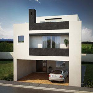 Casas en  Cumbres – Modelo Galicia