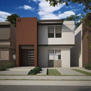 Casas en Saltillo – Modelo Milán II