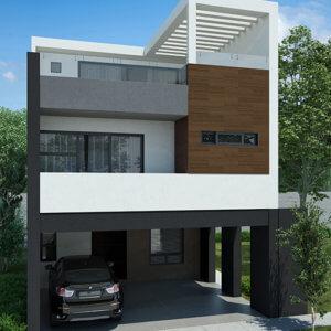 Casas en  Cumbres,  Monterrey – Modelo Vivana II
