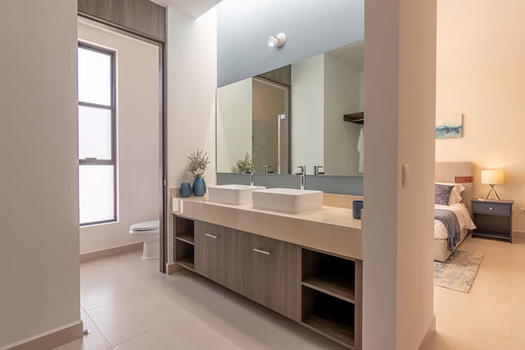 Baño de recámara principal de casa en Zibatá modelo Daya en Antalia Residencial