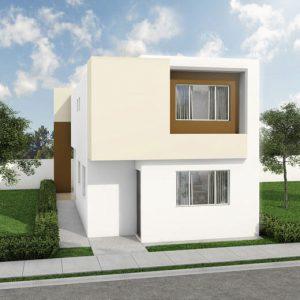 Casas en  Apodaca – Modelo Dubai