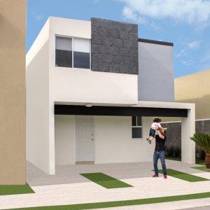 Casas en  Apodaca – Modelo Soria