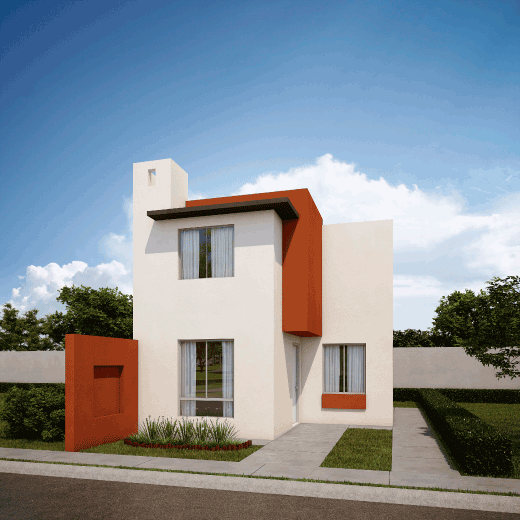 Casas en  Apodaca – Modelo Coruña 7