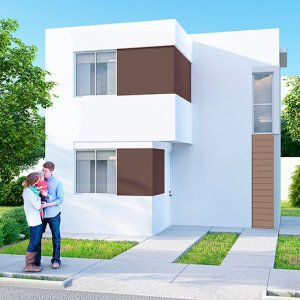 Casas en  Apodaca – Modelo Marsella 8