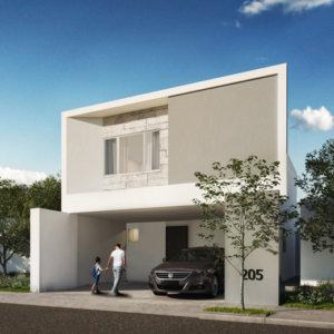 Casas en  Apodaca – Modelo Senza