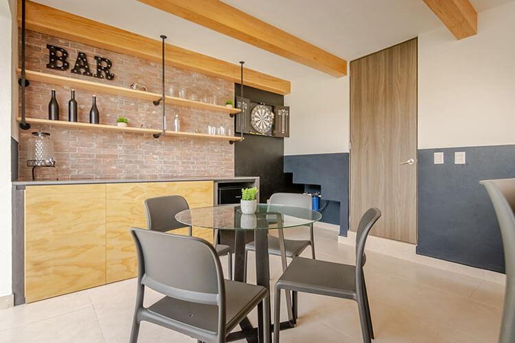 Área de bar de casa en Ankara Residencial modelo Nava Descendente