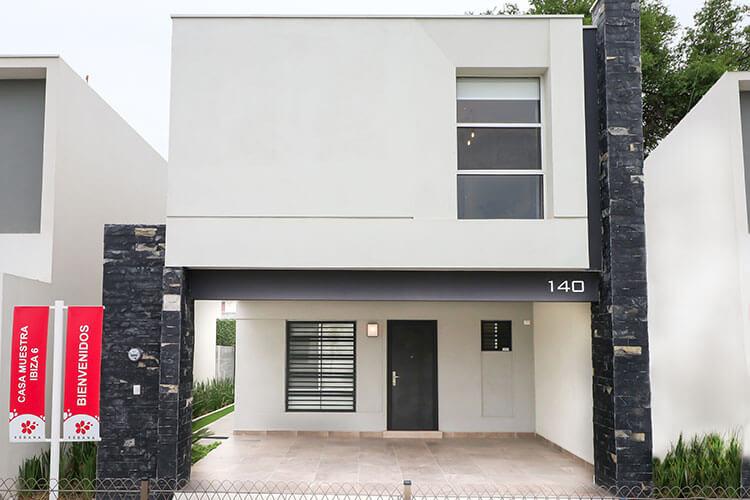 Casa en venta en Apodaca N. L. modelo Ibiza VI en Kebana Residencial.