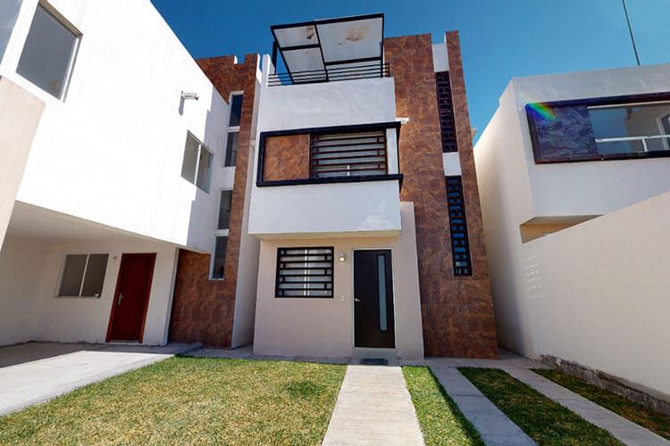 Casa en venta en Apodaca modelo Valladolid Plus en Privenza Quinta Real.