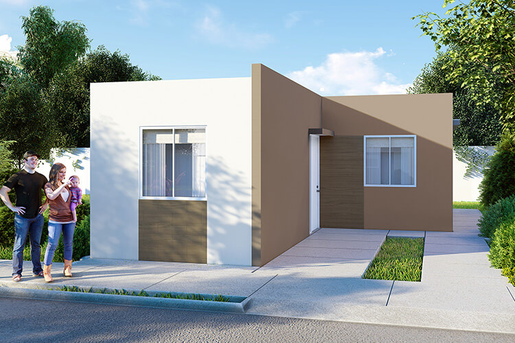 Casa en venta en Cadereyta modelo Alcalá VII en Santa Anita.