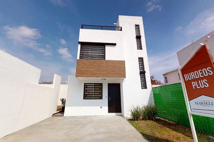 Casa en venta en Guadalupe modelo Burdeos Plus..