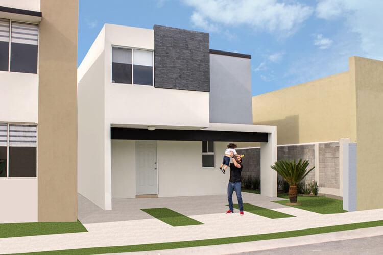 Casa en venta en Guadalupe modelo Soria en Paseo Amberes.