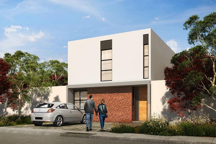 Casa en venta en Zibatá Querétaro modelo Nava en Ankara Residencial.