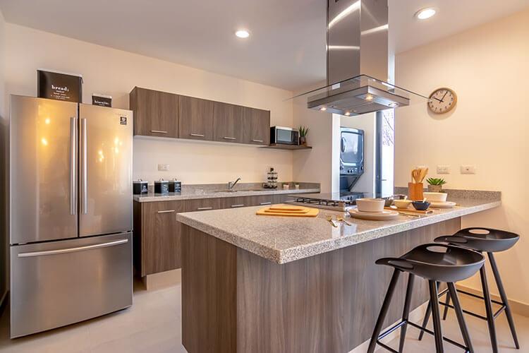 Cocina de casa modelo Nava en Ankara Residencial.