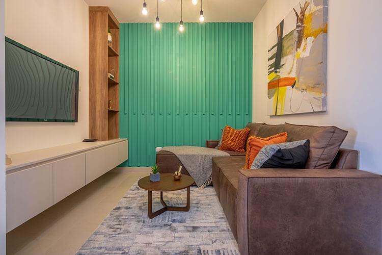 Estancia de casa modelo Nava en Ankara Residencial.