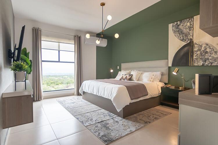 Recámara principal de casa en Ankara Residencial modelo Nava Descendente