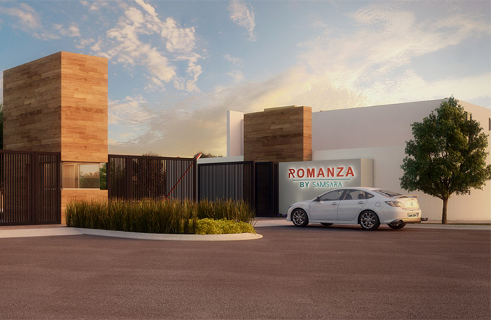 Casas en cumbres Monterrey - Acceso Romanza - Samsara Residencial