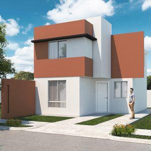 Casas en  García – Modelo Castilla 3-7