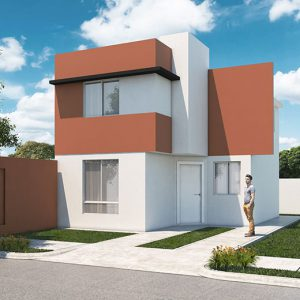 Casas en  Apodaca – Modelo Castilla III-7