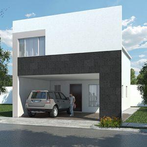 Casas en  Cumbres – Modelo Ibiza VI