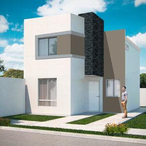 Casas en Saltillo – Modelo Castilla 3-7