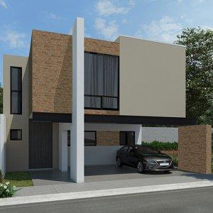 Casas en Saltillo – Modelo Khali