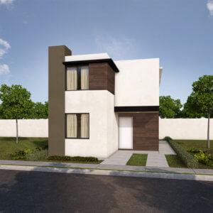 Casas en Saltillo – Modelo Provenza