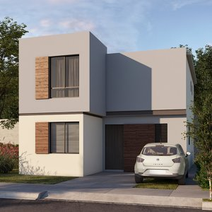 Casas en Saltillo – Modelo Visaya