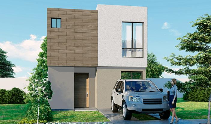 Casas en Zákia – Modelo Vela
