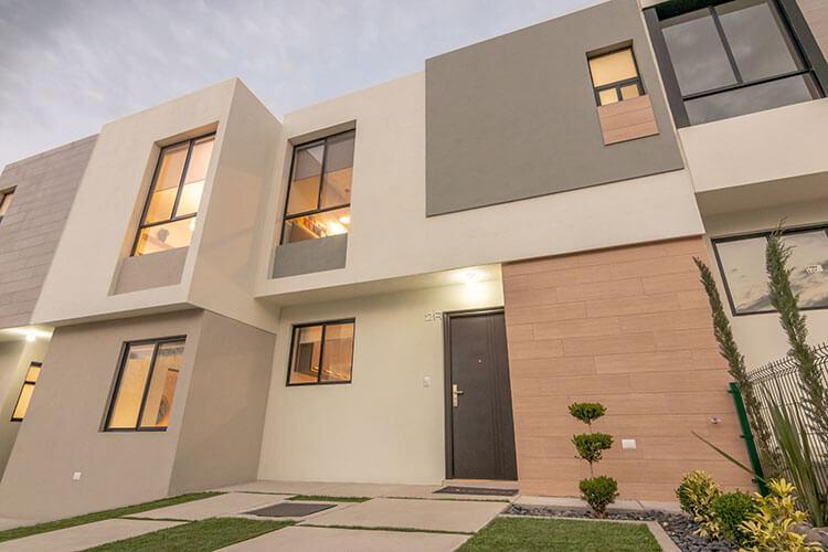 Casa en venta en Querétaro modelo Lyra en Alhandra Residencial.