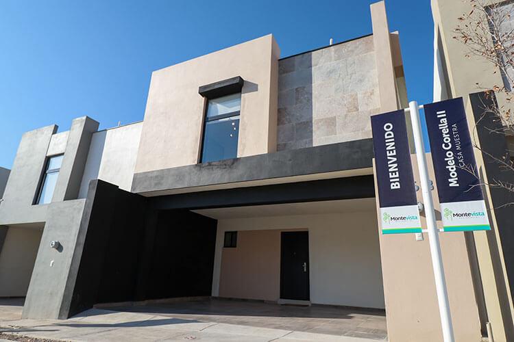 Casa en venta en Saltillo modelo Corella II en Montevista Residencial.