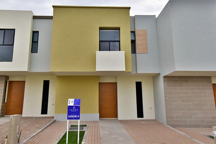 Casa en venta en Zákia modelo Lenor 2 en Lenna Residencial