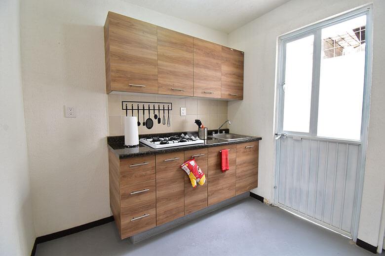 Casas en León, Gto. Ciudad Punta Dorada, modelo Viena, cocina.