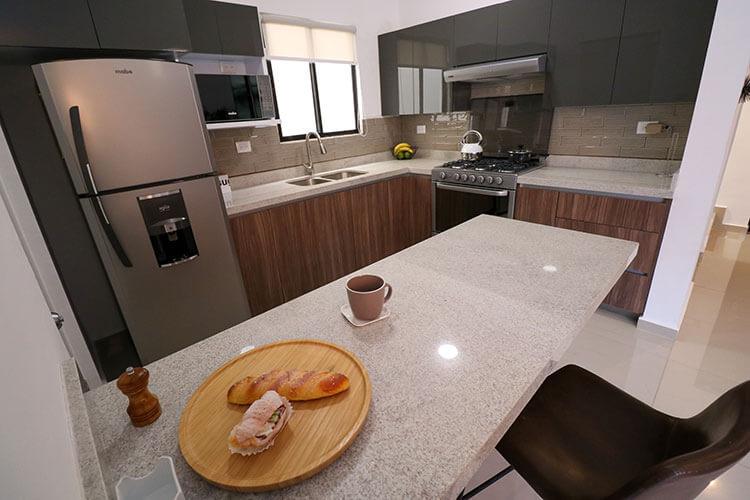 Cocina de casa en Saltillo modelo Corella II en Montevista Residencial.