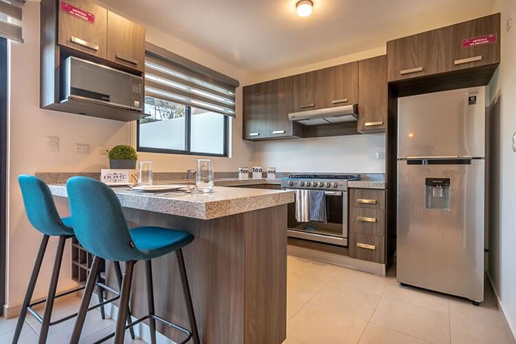 Cocina de casa modelo Vela en Alhandra Residencial.